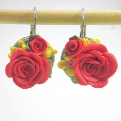 anting-bunga-red-rose