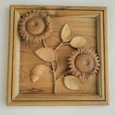 hiasan-dinding-motif-bunga-matahari