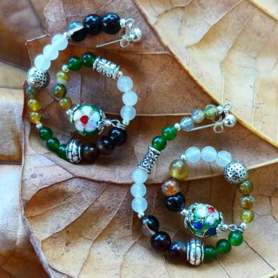priya-loop-earing-green