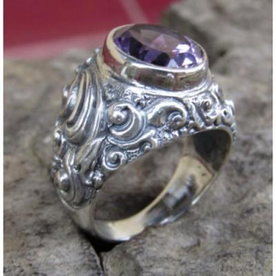 cincin-perak-motif-patra-bali-batu-amethyst-100262