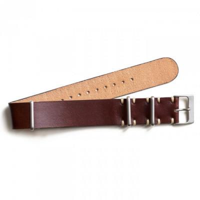 nato-zulu-strap-jam-tangan-kulit-asli-ukuran-24-mm-warna-coklat-garansi-1-tahun