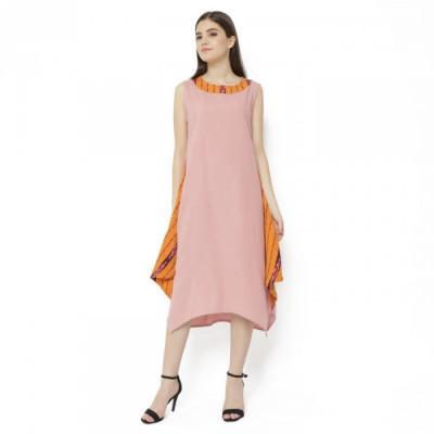 gesyal-asimetris-linen-kelereng-midi-dress-wanita-list-tenun