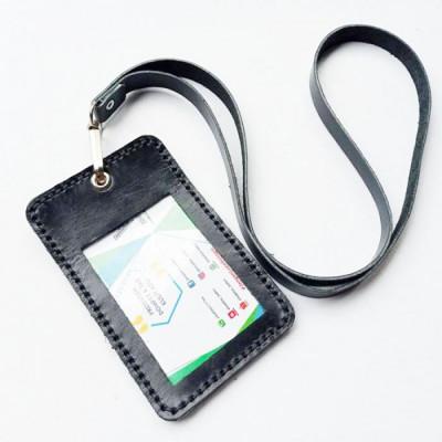 name-tag-id-kulit-asli-warna-hitam-garansi-1-tahun-tali-id-card