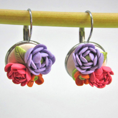 anting-bunga-peony-ungu