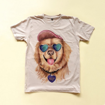 kaos-lukis-dog-series