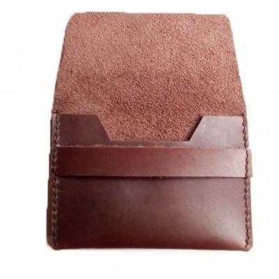 dompet-kartu-kulit-asli-sapi-warna-coklat-tua-dompet-kulit-asli