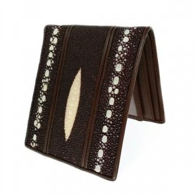 dompet-pria-kulit-asli-ikan-pari-duri-double-model-bifold-warna-coklat-dompet-kulit