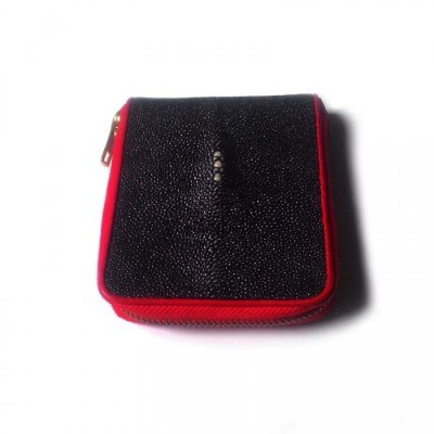 dompet-pria-kulit-asli-ikan-pari-model-bifold-zipper-warna-hitam-dompet-pari-