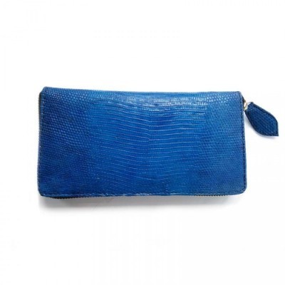 dompet-wanita-kulit-asli-biawak-model-single-zipper-warna-biru