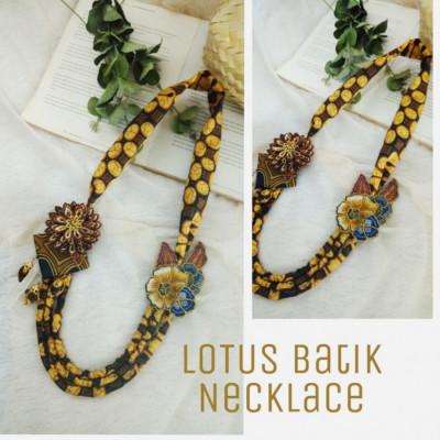 lotus-kalung-batik-dan-bros
