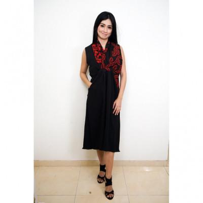 fs-gesyal-midi-dress-batik-wanita-black-red