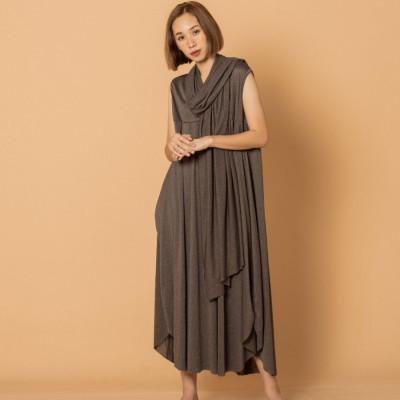 austin-loose-dress-shiny-grey