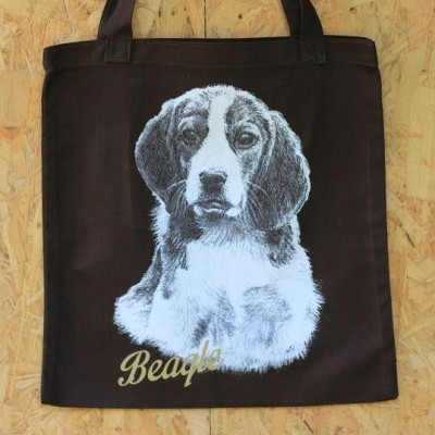 drawing-tote-bag-beagle