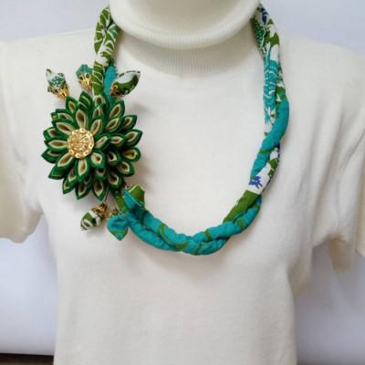 kalung-batik-lilit-lotus-hijau