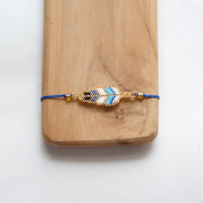 gelang-manik-indian-feather