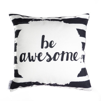 be-awesome-cushion-40-x-40