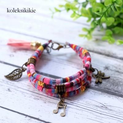 gelang-tenun-anika-pink