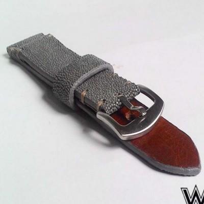 tali-jam-tangan-strep-jam-kulit-asli-ikan-pari-handmade