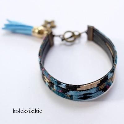 gelang-tenun-lestari-biru