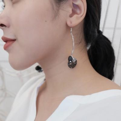 nina-earring-black-silver