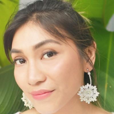 perla-earring-white