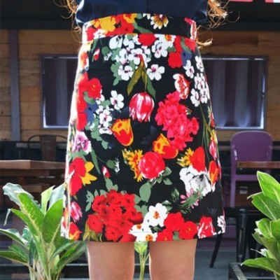 floral-skirt-code-300290