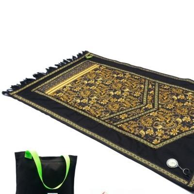 sajadah-jeans-moslem-gold-flower