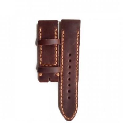 tali-jam-tangan-kulit-asli-sapi-handmade-warna-coklat-tua-size-22-mm-leather-strap