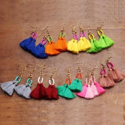 anting-tassel-colourfull-cling-earrings