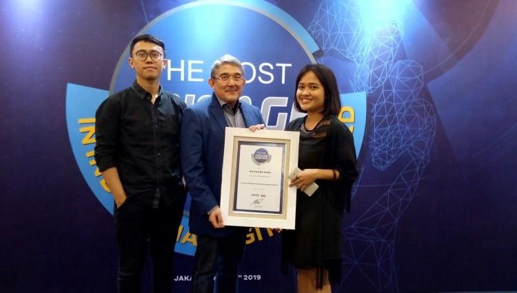 Ku Ka Raih Penghargaan The Most Experiential Digital Brand Campaign pada Program #tanganbercerita